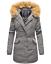 Marikoo-Karmaa-Damen-WinterJacke-Steppjacke-winter-Parka-Mantel-warm-gefuttert miniatuur 7