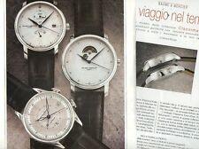 SP95 Clipping-Ritaglio 2006 Baume & Mercier Classima Executives