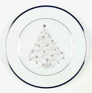 Noritake Palace Christmas Platinum Holiday Salad Plate 2172939
