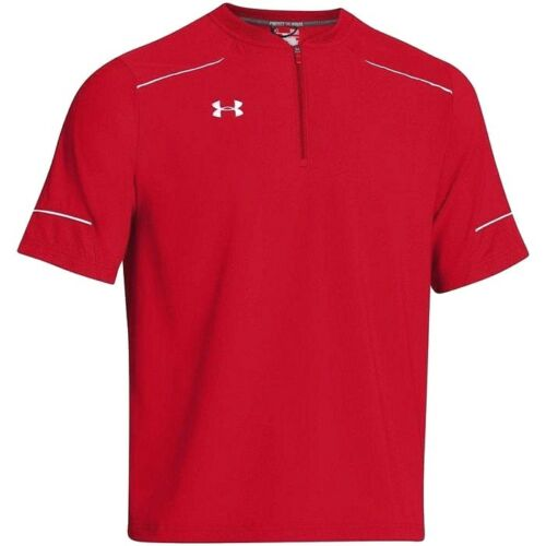 Under Armour UA Baseball All SeasonGear Men/'s RED Team Ultimate Cage Jacket