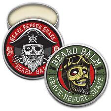 GRAVE BEFORE SHAVE BEARD BALM DUAL PACK (Bay Rum, and Original GBS Beard Balm)
