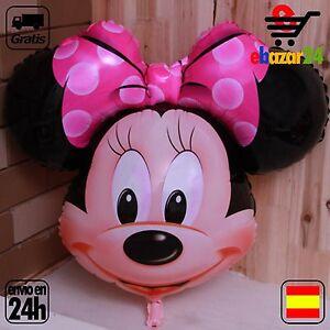 Globo-Minnie-Mouse-Rosa-Disney-78-x-65-XL-gigante-cumpleanos-fiesta-globos-Envi