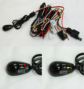 2003 2004 mustang cobra fog light pigtail wiring harness switch rh ebay com 2004 mustang mach 460 wiring harness 2004 mustang gt engine wiring harness