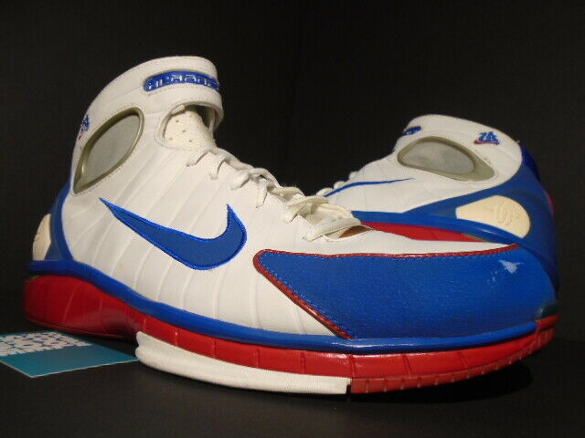 look out for clearance sale low cost 2004 NIKE AIR ZOOM HUARACHE 2K4 KOBE BRYANT KB LA ALL-STAR WHITE 308475-146  15