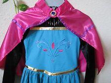 Gloves Tiara Crown Girls 3 Years Elsa Coronation Dress Costume Cape