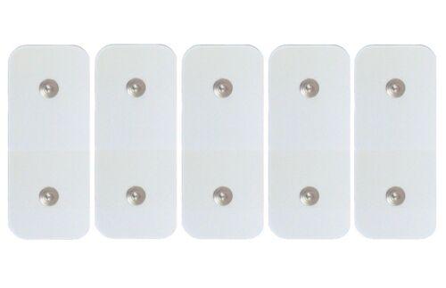 ^ St 5 Elektroden Klebstoffe Ersatzteile Kompatibel Gürtel Gymform Total ABS