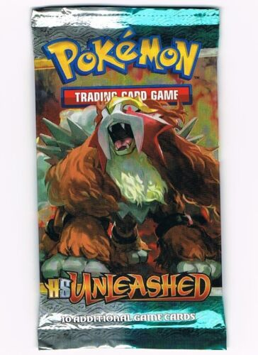 POKEMON HS UNLEASHED BOOSTER PACK