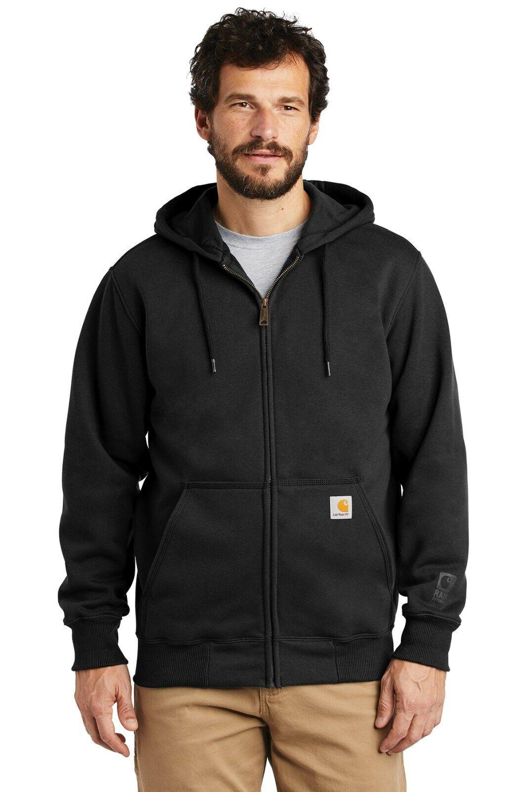 Carhartt Rain Defender Paxton Heavyweight Hooded Zip Front Sweatshirt