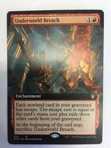 MTG-Theros-Beyond-Death-Underworld-Breach-Extended-Art-NM