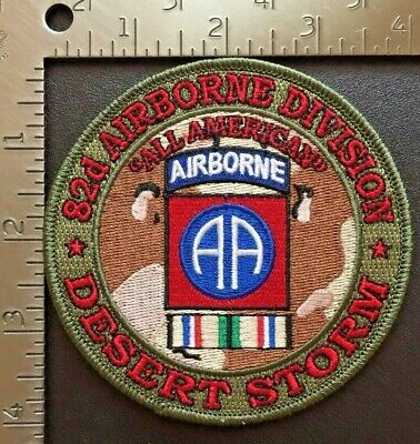 """USAF 18th Airbourne Desert Storm /""""Sky Dragons/"""" Patch"""