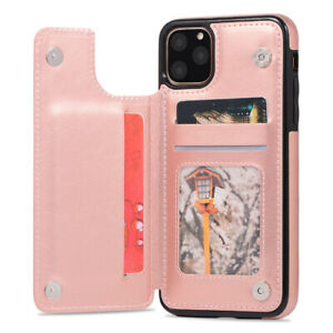 For-iPhone-11-Pro-XR-XS-8-Plus-Shockproof-Leather-Case-Card-Holder-Wallet-Cover