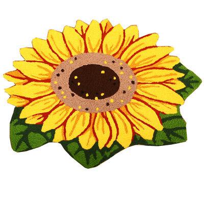 Sunflower Bathmat Door Rug 2.6x1.6 Ft  Home Washable Rug Floor Mats Doormat Bath
