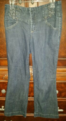 Women's Size 6 Petite VTG 40-50s Style Blue Dungar