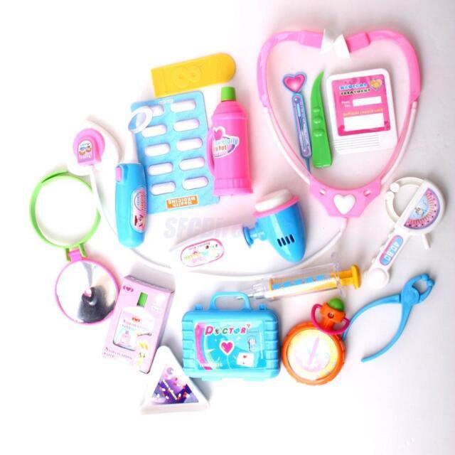 Kids Pretend Role Playing Doctor Nurses Medical Set Kit Children's Education Toy