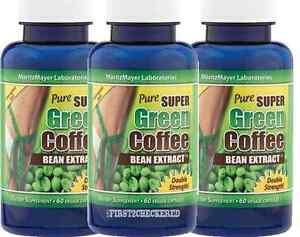 pure groene koffiebonen extract