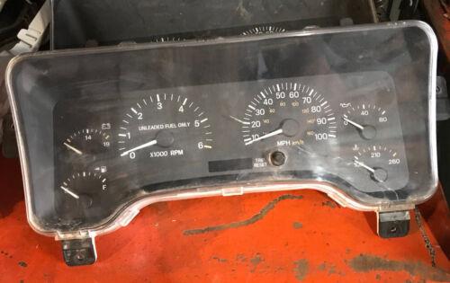 97-01 JEEP Cherokee XJ Tachometer SPEEDOMETER INSTRUMENT CLUSTER ***YOUR MILEAGE