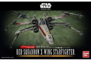Star Wars Special Set 1/72 & 1/144 Red Squadron X-wing Starfighter Bandai