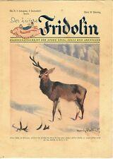 """""""DER HEITERE FRIDOLIN"""" Jugendzeitschrift Ullstein Verlag, 1928 / Nr. 9, 7. Jg."""