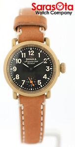 Shinola argonite 1069 detroit s0200017 brown leather quartz women 39 s watch ebay for Argonite watches