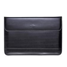 Schwarz Note Book Tablet Leder Lap Top Tas Che Sleeve Hülle 13,3 Zoll Schutz