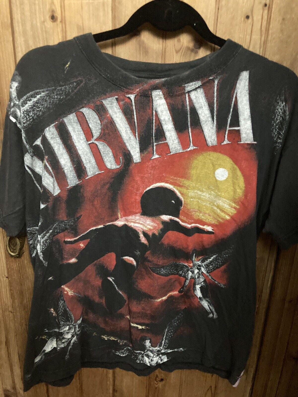 Vintage Nirvana very RARE t-shirt - image 2