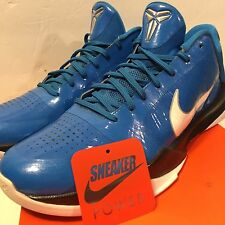 Nike Zoom Kobe V 5 Sz 12 Miles Davis Blue White Black Asg Lakers iv x og i iii