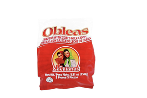 Details about Las Sevillanas Obleas Wafers Goat Milk Candy Dulces Mexicanos  Leche de Cabra - 5