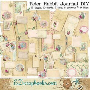 46x Stamp Stickers Vintage Plant DIY Scrapbooking Diary Junk Journal Craft Decor