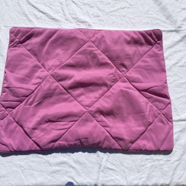 Pottery Barn Alessandra Scroll Organic Sham European Red NWOT Linen Cotton