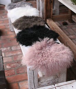 zealand sheepskin sitzkissen lammfell fell stuhl auflage stuhlkissen flach ebay. Black Bedroom Furniture Sets. Home Design Ideas