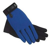 Royal Blue Ssg All Weather Riding Gloves 8600 Ladies S Mens Universal Child's
