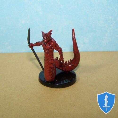 Deadly Foes #3 Pathfinder Battles D/&D Miniature Salamander