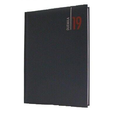 Agenda 2019 Giornaliera A5 21x15 Similpelle Colore Blu