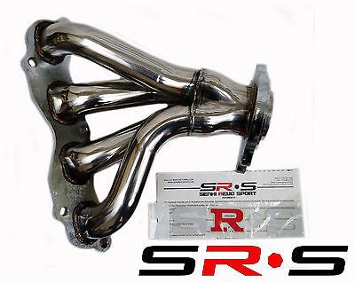 SRS ACURA INTEGRA 92-93 LSRSGSR STAINLESS STEEL HEADER SR*S T-304