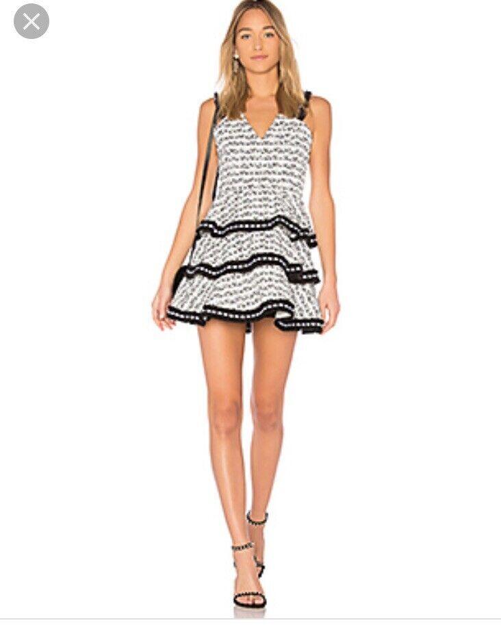 Nuevo con etiquetas Alexis Zlata Tweed Vestido  M  protección post-venta
