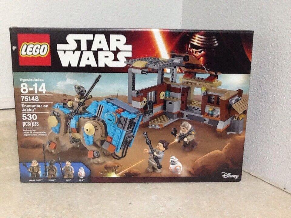 Lego Star Wars Rencontre sur Jakku  75148 avec 4 minifigs  qualité officielle