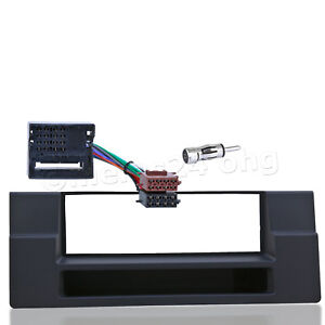 Car-Radio-Bezel-Set-1-DIN-BMW-5er-e39-Shelf-Cider-Adapter-ISO-Professional-Cable