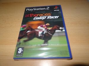 Gallop Racer at the races ps2 playstation 2 uk pal version NEW SEALED  5060034550631