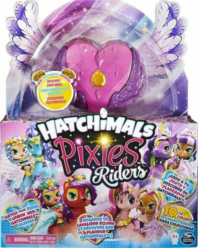 Hatchimals 6058551 Hatchimal Set CHOOSE YOUR COLOUR SET Pixies Riders