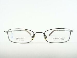 Flexbrille-Light-Men-039-s-Glasses-Titanium-Glasses-Elastic-Silver-Size-L