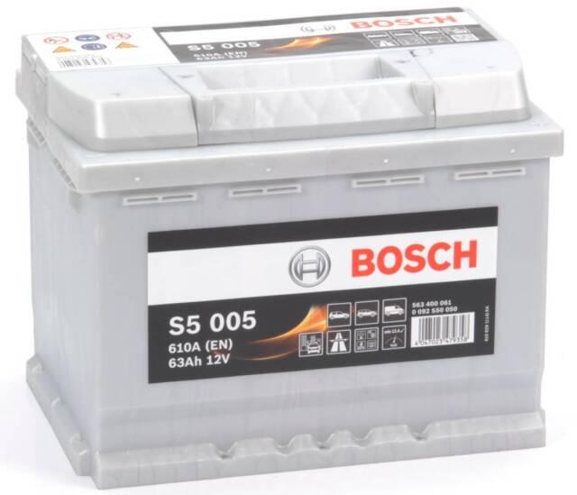 Bosch S5A15 S5 A15 Start Stop AGM Car Battery 12V 105Ah Type 020 5 YEAR WARRANTY