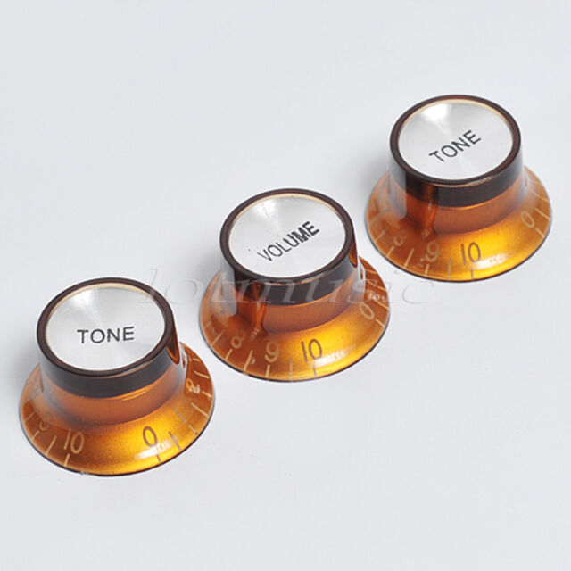 Guitar Volume Tone Control Knob Top Hat for Etc Fender Strat