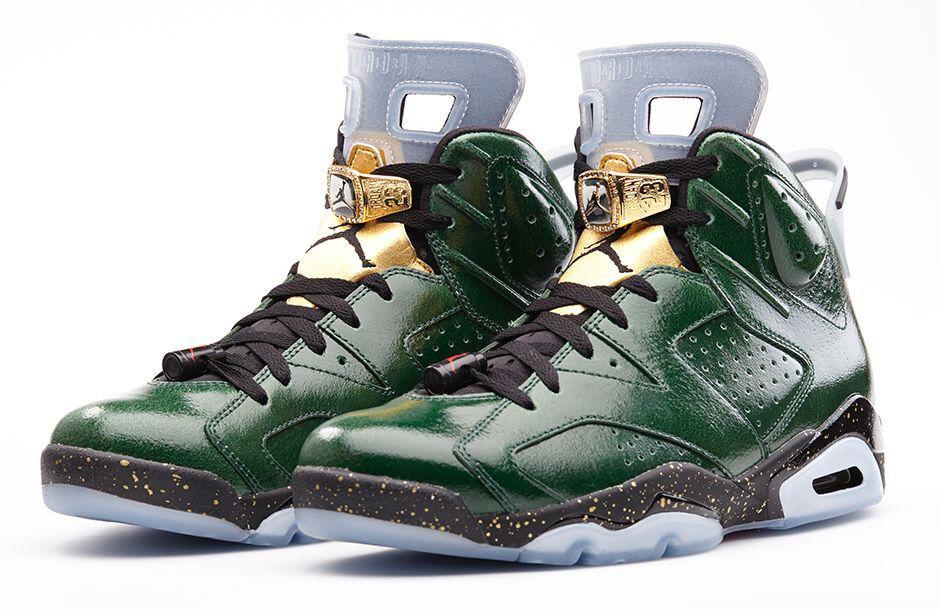Nike Air Jordan 6 VI Retro Champagne Size 10. 384664-350 1 2 3 4 5
