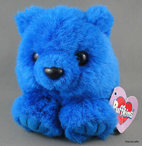 Swibco puffkins 4in skylar royal blue teddy bear 1998 ball character image is loading swibco puffkins 4in skylar royal blue teddy bear thecheapjerseys Choice Image