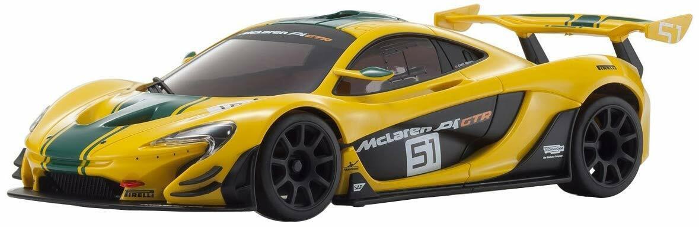 Kyosho 32324YG-B MINI-Z RWD McLaren P1 GTR Yellow Green MR-03 RS