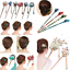Charm-Women-Rhinestone-Handmade-Hair-Stick-Hair-Chopsticks-Hairpin-Pin-Chignon thumbnail 2