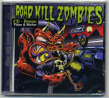 Road Kill Zombies - Riding With Demons CD Church Of Confidence Berlin Punk Rock