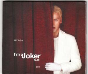 2021 Eurovision - Georgia 2012. I'm a Joker - Arni Jokhadze. ( Promo CD Single.)