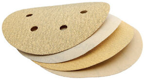 DRAPER-150mm-Aluminium-Oxide-Hook-and-Loop-Sanding-Discs-Pack-of-10-64497