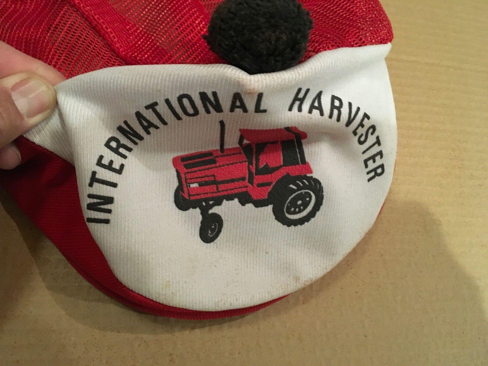 Vintage International Harvester Tartan Tam Cap Re… - image 9
